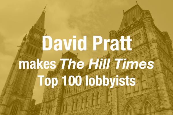 David Pratt makes the Hill Times Top 100 List Again!