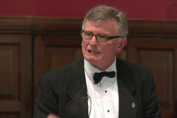 David Pratt at Oxford Union Debate